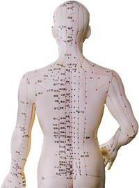 акупунктура точки на спине