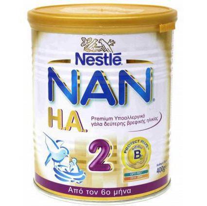 как давать нан кисломолочный