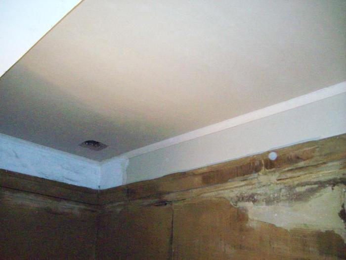 Как разводить мел для побелки потолка