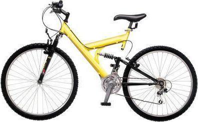багажник на двухподвесный велосипед