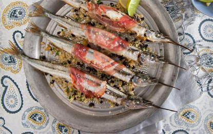 Рыба сарган рецепты