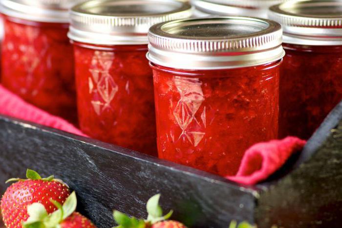 Рецепт варенья из полевой клубники на зиму