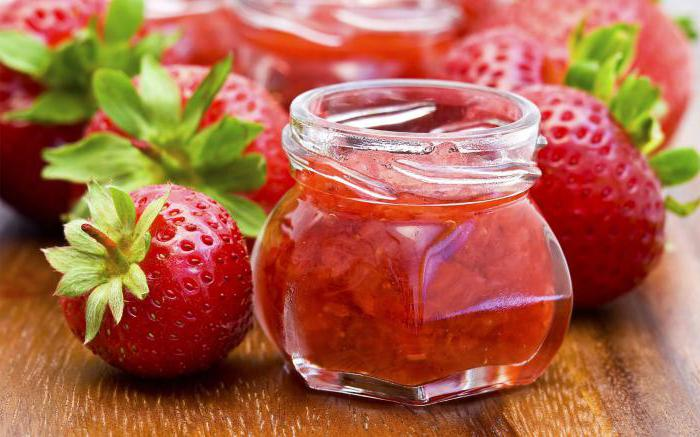 strawberry jam recipe with photo