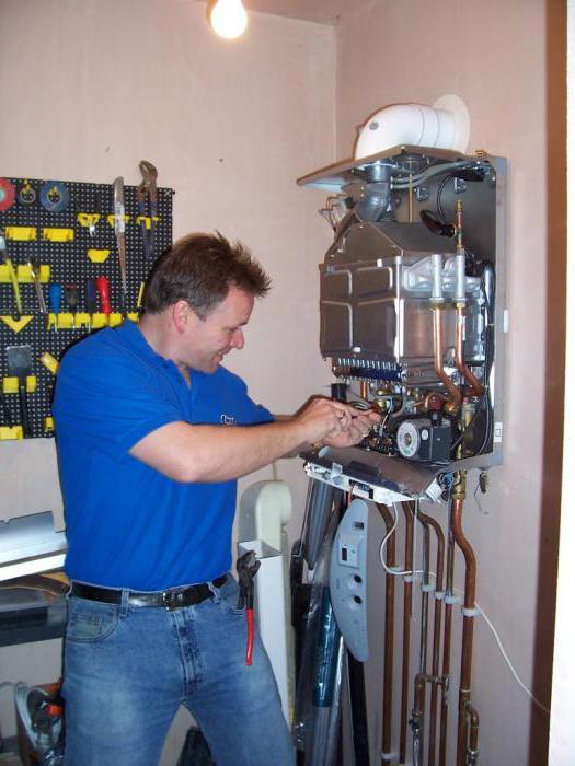 установка газовых котлов в домах