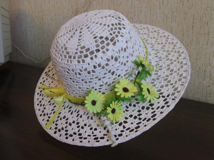 шляпа крючком схемы вязания Sylru