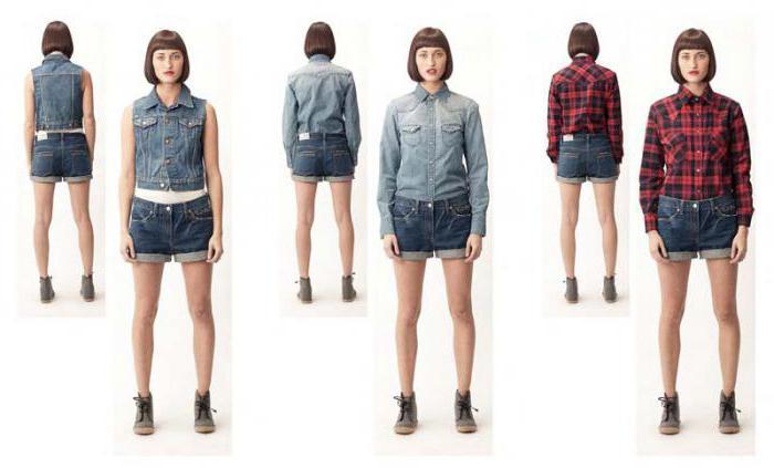 С чем джинсовым носить джинсовые шорты летом?