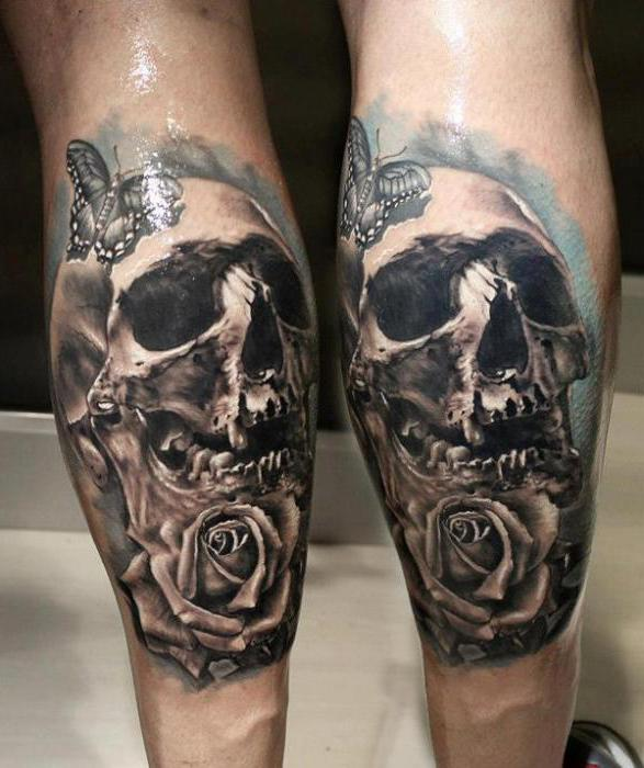 what does skull tattoo mean
