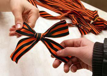 What does the St. George ribbon story
