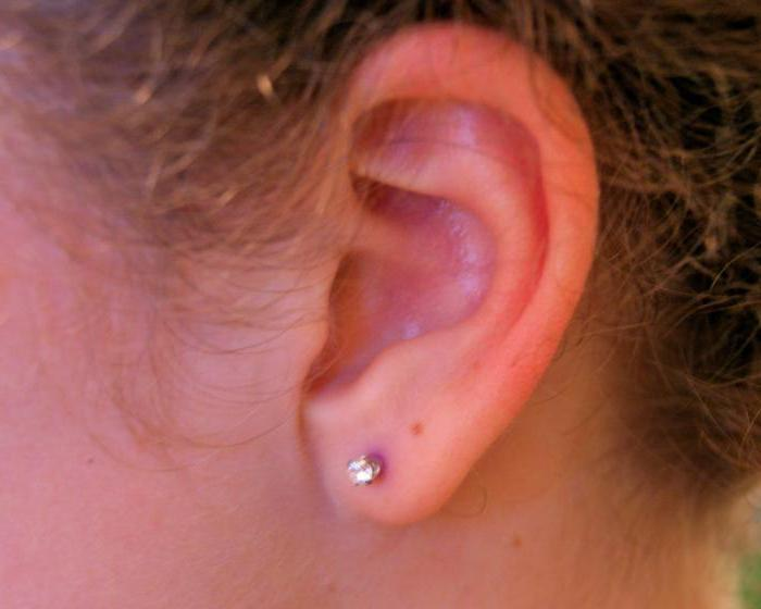 to pierce ears