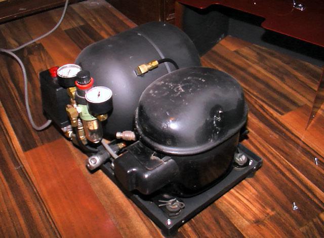 homemade compressor