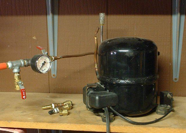 homemade high pressure compressors