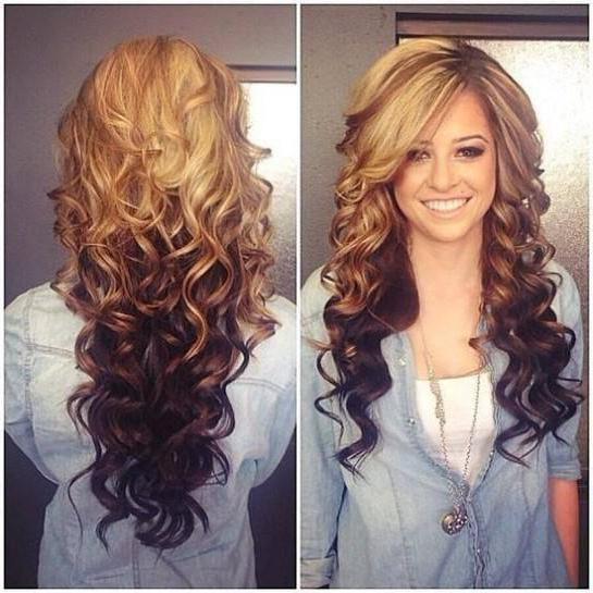 curls for long hair