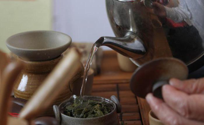 китайский чай те гуань инь свойства