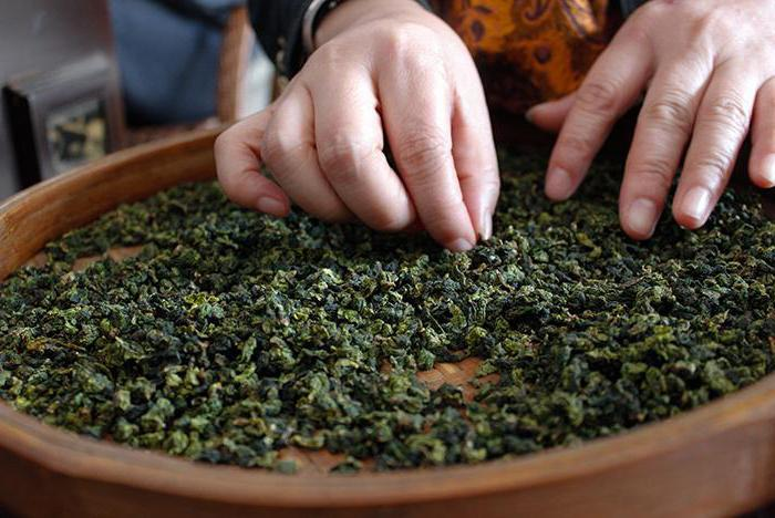 чай зеленый те гуань инь