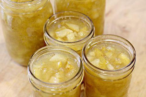 simple recipe for pear jam