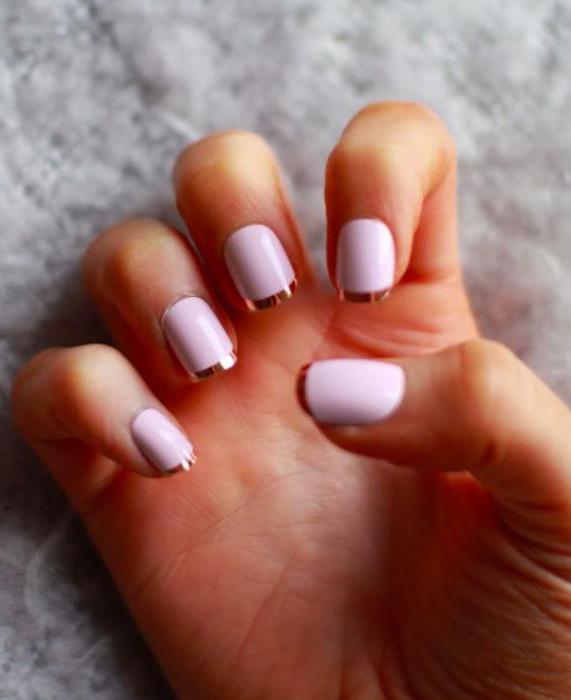 summer manicure gel varnish