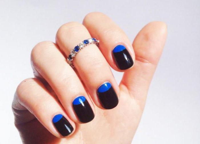 Fashionable summer manicure