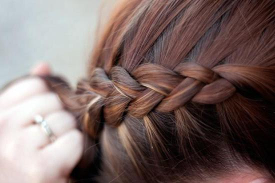 french braid on the contrary photo