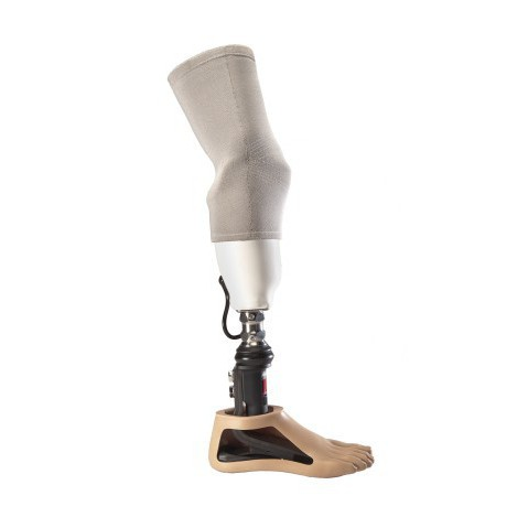 Leg prosthesis below the knee