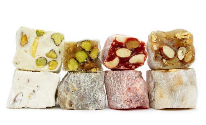 Из чего делают рахат-лукум? Восточные сладости