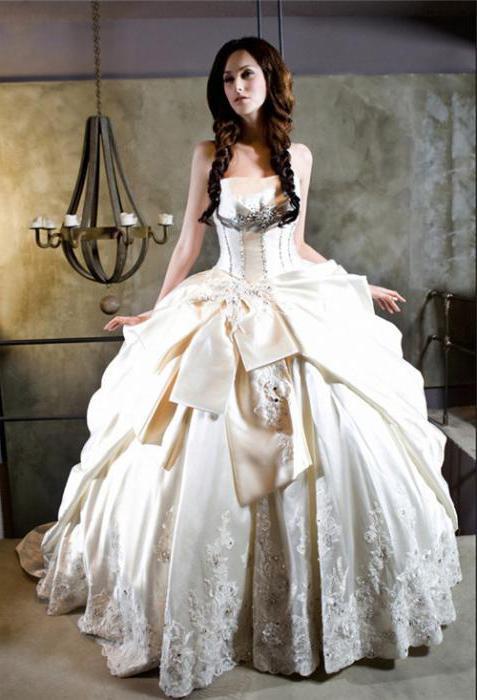 wedding dress color ivory