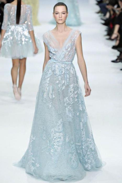 wedding dress in style