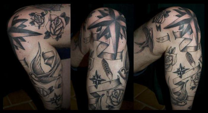 Тюремные татуировке на коленях