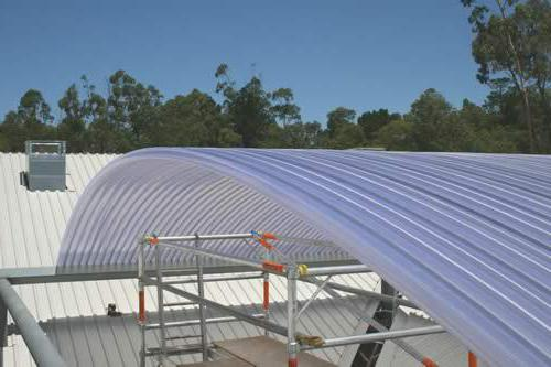 how to make a polycarbonate canopy
