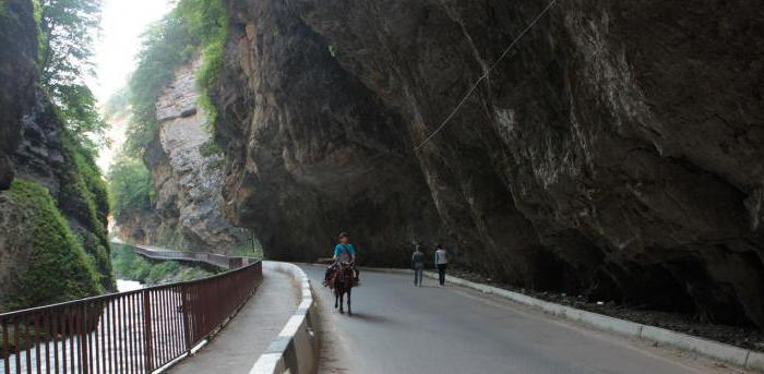 Chegem Gorge attractions