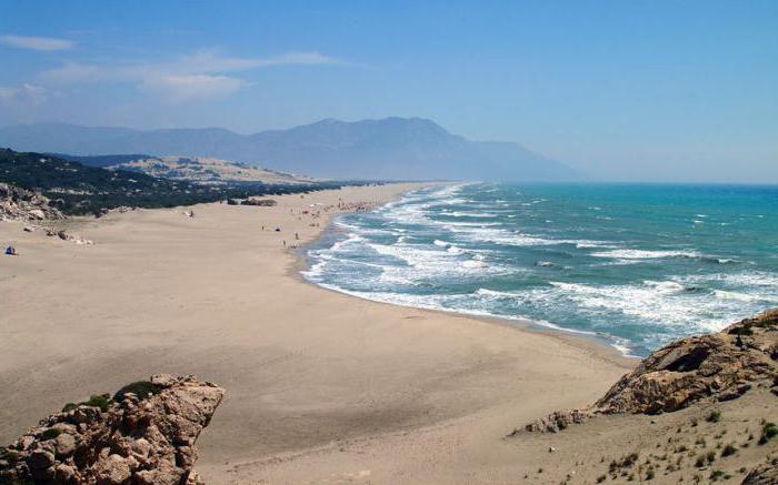 Turkey resorts with a sandy beach