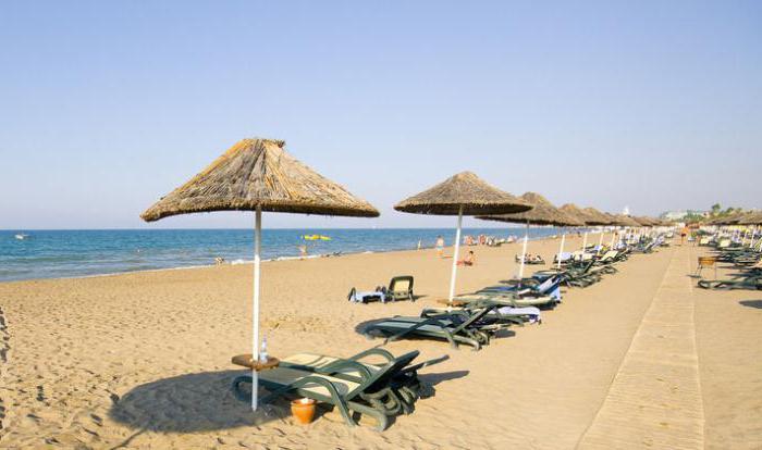 Turkey sandy side beaches