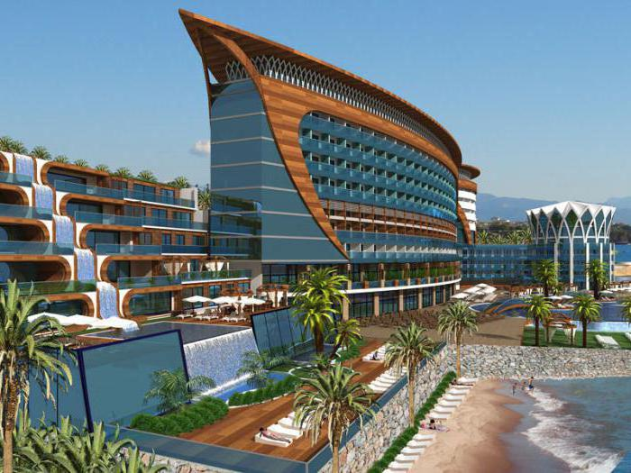 hotels in turkey with a sandy beach
