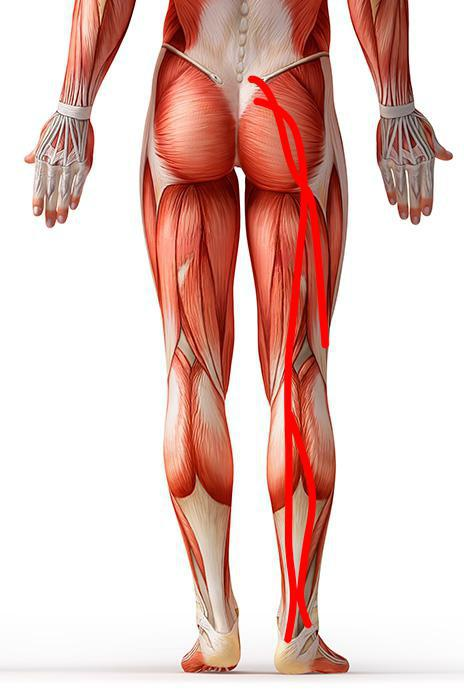 how to cure a pinched nerve in a leg