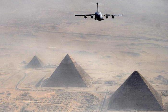 Flight Moscow-Egypt
