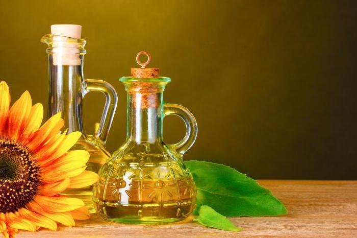 Sunflower calorie oil