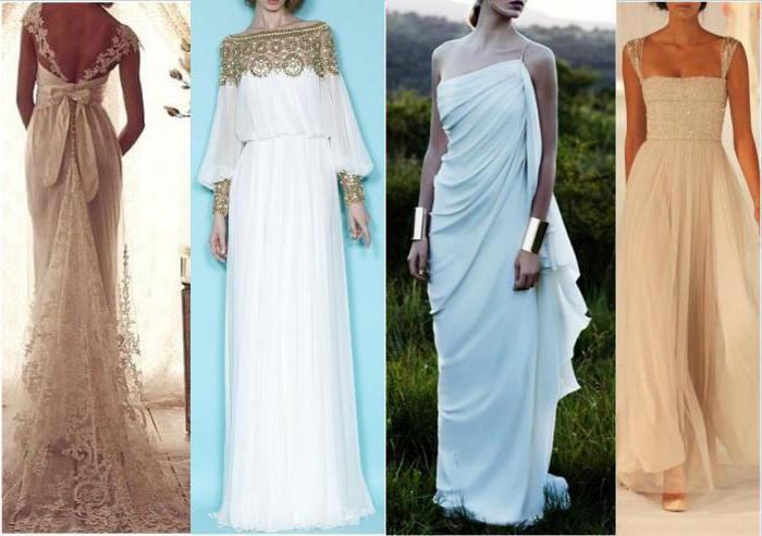 Платье греческого стиля без выкройки