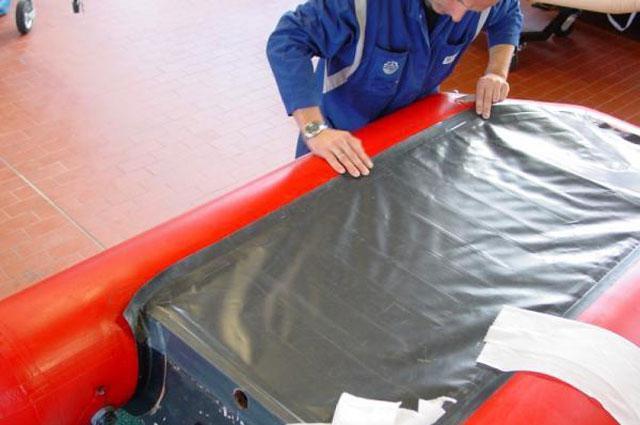 Ремонт резиновой лодок