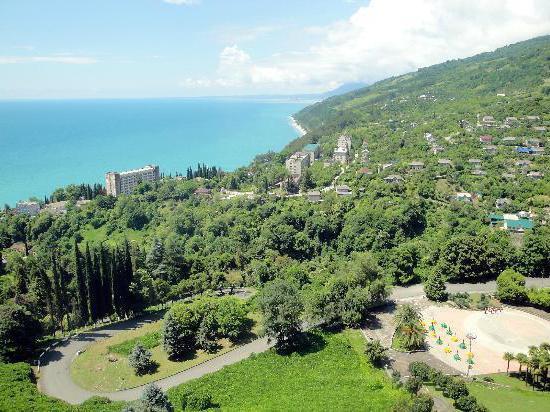 Abkhazia gagry sights