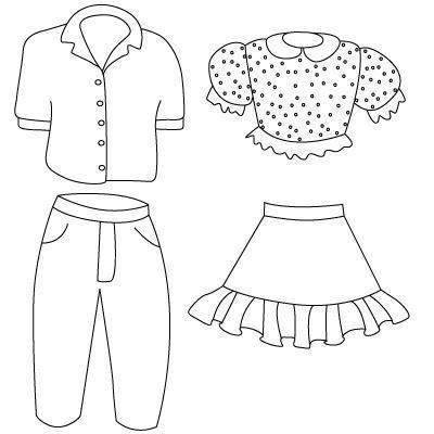 как рисовать одежду для начинающих