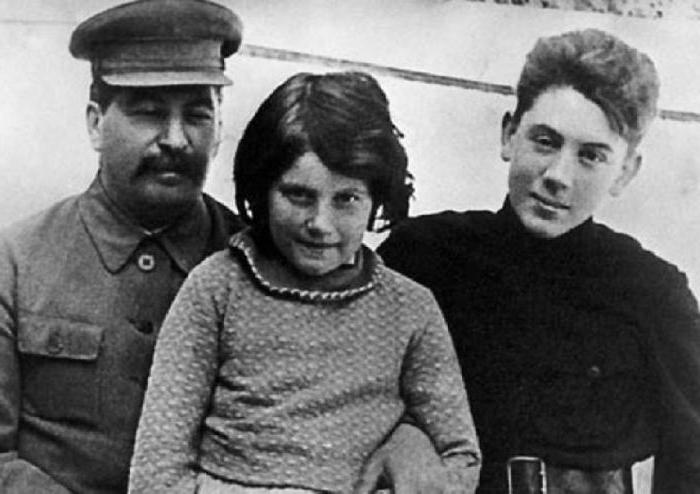 василий сталин биография личная жизнь дети