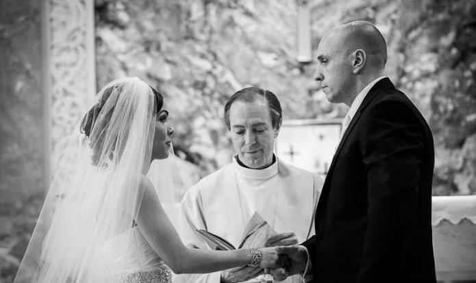 cool vows of the bride and groom
