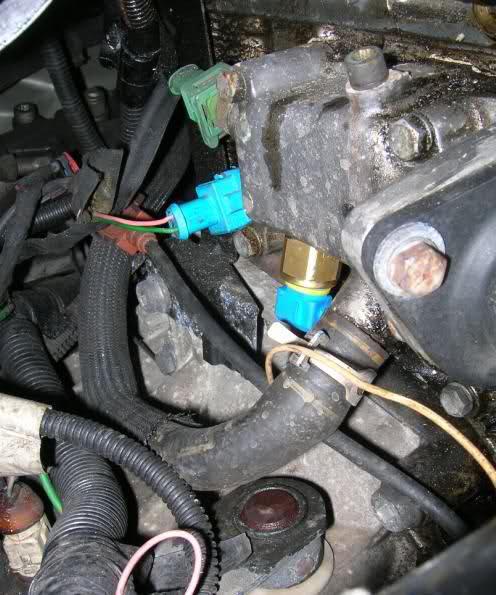 temperature sensor 406 engine