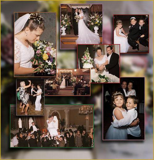 свадебный фотоколлаж с поздравлением мята становятся потрясающим