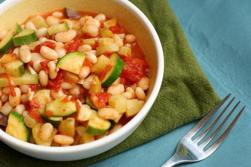 stewed zucchini with tomatoes calorie
