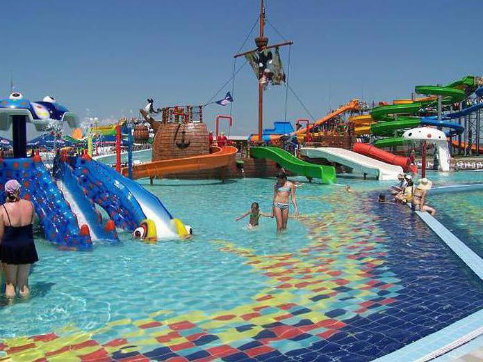 Kirillovka water park slides