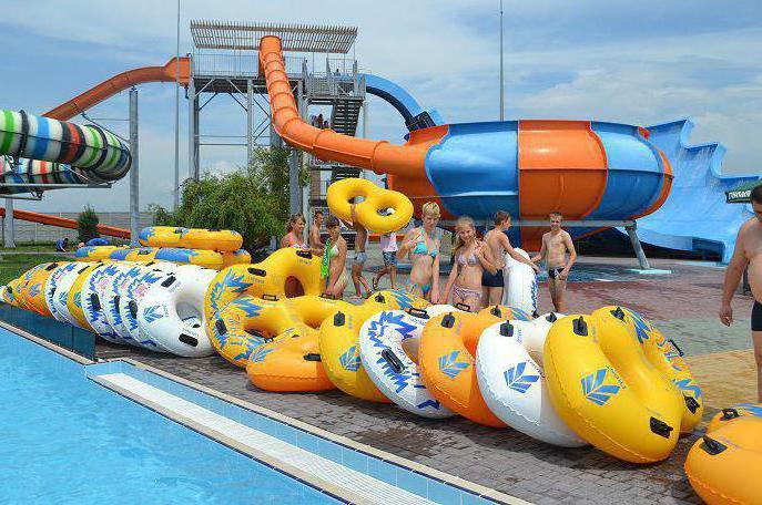 Kirillovka water park treasure island