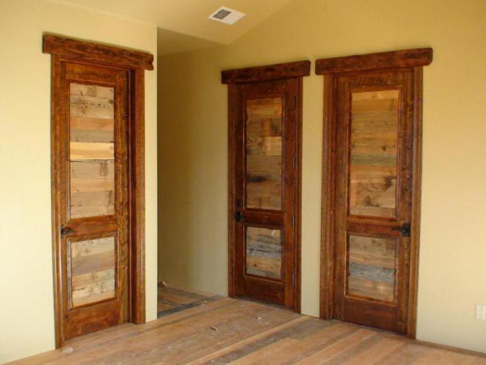 Размеры межкомнатных дверей с коробкой