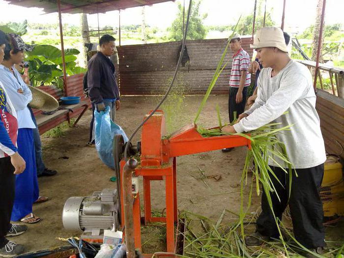 Измельчители веток и травы своими руками фото