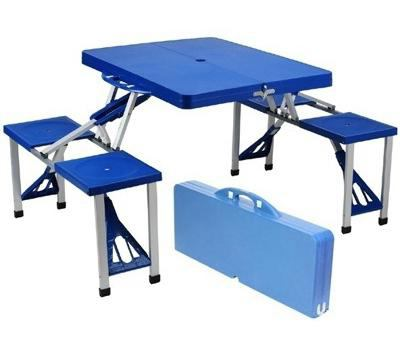 folding picnic table with your own hands