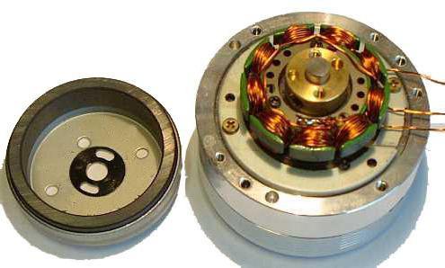 управление бесколлекторным двигателем